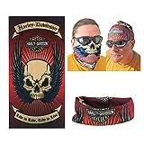 Pasamontañas de Harley Davidson Explorer Rider, máscara para cuello, de DODO®