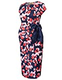 GRACE KARIN Elegant Umstandskleid Schwanger Kleid Business Kleid XL CL718-2