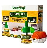 #8: Herbal Strategi Mosquito Vaporizer (Machine + Refill)