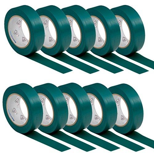 10-rotoli-vde-nastro-isolante-elettrico-pvc-nastro-adesivo-15mm-x-10m-din-en-60454-3-1-colore-verde
