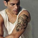 3 Stücke-wasserdichte Tattoo Aufkleber meerjungfrau Prinzessin Krone Bunte Tattoo Tattoo Tattoo männer und Frauen 3 Stücke-
