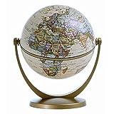 Stellanova Mini-Globus Dreh-Schwenk Globus, Antikdesign 10cm