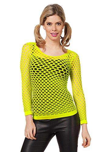 Wilbers 4680 Netzshirt Neon-Gelb-E