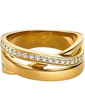 Ring vergoldet 64