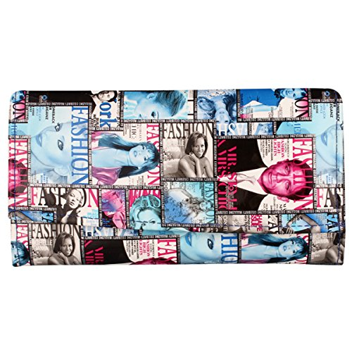 Mango People Multi Blue Color Clutch  available at amazon for Rs.118