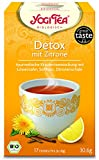 Yogi Tee BIO Detox mit Zitrone