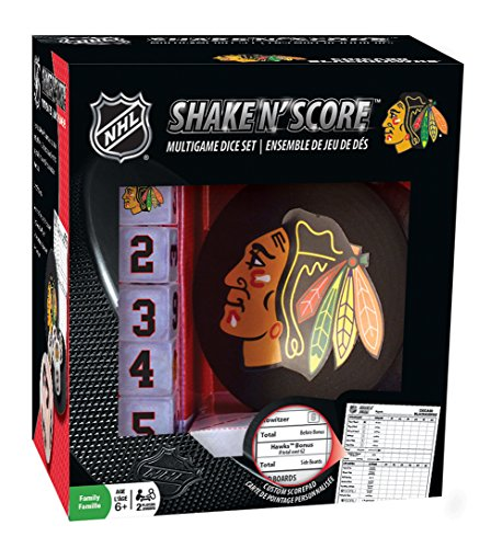 Blackhawk Park (Master-Pieces NHL Chicago Blackhawks Shake 'N Score Würfelspiel)