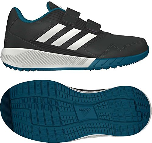 adidas Altarun CF K, Chaussures de Fitness Mixte enfant Gris (Gricin/Ftwbla/Neguti)