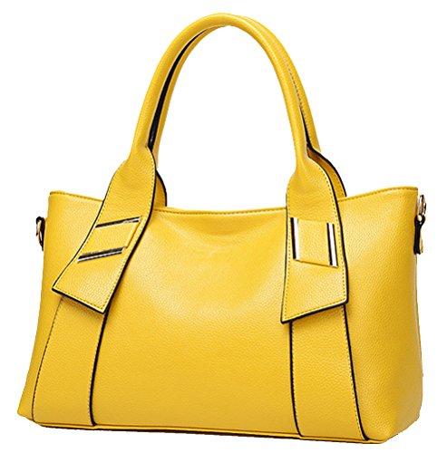Yan Show - Bolso cruzados para mujer amarillo amarillo large