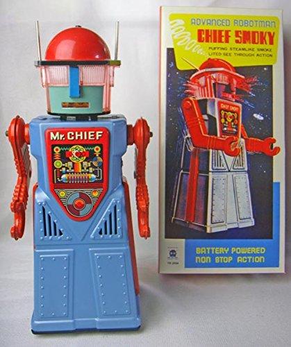 TR2054-surprizeshop-mysticals-Mr-con-pilas-de-coleccin-de-Jefe-Ahumado-Robot-de-espacio