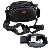 Videocamera HD borsa custodia per Panasonic HX-WA30HX-WA3HX-DC3X920V720V520V210V510V380EB W580VX980VXF990EB W570V550V130V250HV270x-a100A500E; Sony Handycam HDR TD30CX280E CX220E PJ220E CX320E AX33AXP33CX450CX625AX53CX410VE PJ320E PJ650VE PJ420VE CX240E PJ530E CX330E J810E PJ240E PJ330; Samsung SD videocamera F70F50H300H106HMX-F80BP; Canon LEGRIA R76R78R706R46R406R38R37R36R306R66R68R606M52M56M506R48R47R76R78R706