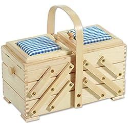31 Aumüller/850/B1 costurero de madera
