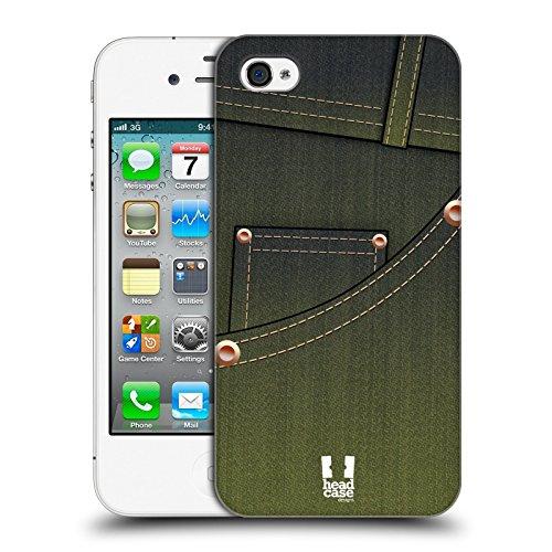 Head Case Designs Stiloso Uomo Tasche Jeans Cover Retro Rigida per Apple iPhone 7 Plus / 8 Plus Acid Wash