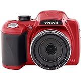 '50x Zoom Brücke Kamera–Style Digital SLR mit optischer Zoom–Polaroid ix503818Megapixel mit 3Display (rot)
