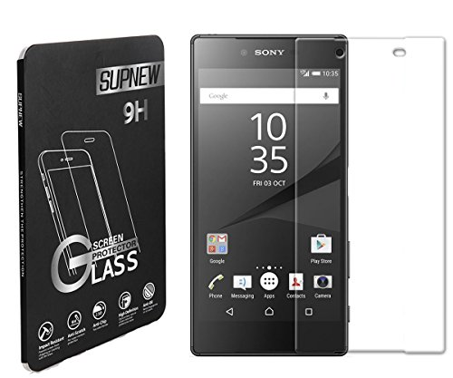 pack-of-2-sony-xperia-z5-compact-glass-screen-protector-supone-026mm-9h-tempered-glass-screen-protec