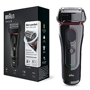 Braun Series 5 5030s - shaver - red/black