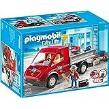 Playmobil 7242 remorque de chantier jeux et jouets - Betonniere playmobil ...