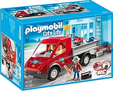 Playmobil Camion Benne - PLAYMOBIL 5032 City Life - Le camion