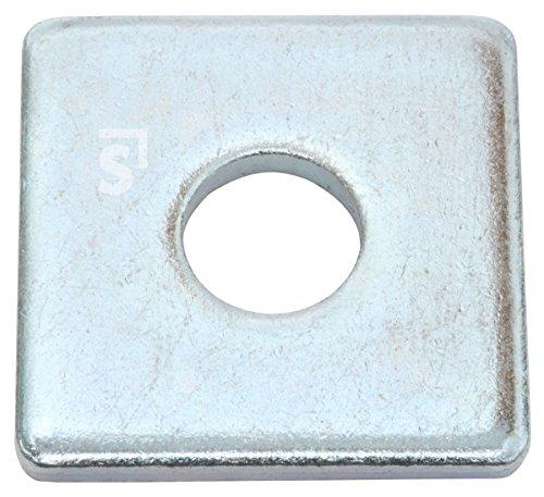 Schössmetall Bauscheiben vierkant DIN 436 17,5 x 50 mm Stahl verzinkt 100 Stück