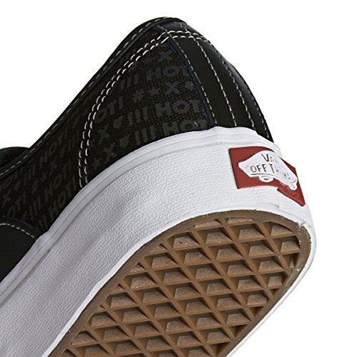 Herren Skateschuh Vans Av Classic Skate Shoes (independent) black