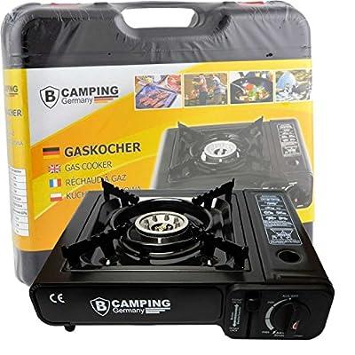 StyleKiste Gaskocher Campingkocher 1-flammig Max. Leistung 2,5 KW für Angeln und Camping von B-Camping Germany auf Outdoor Shop