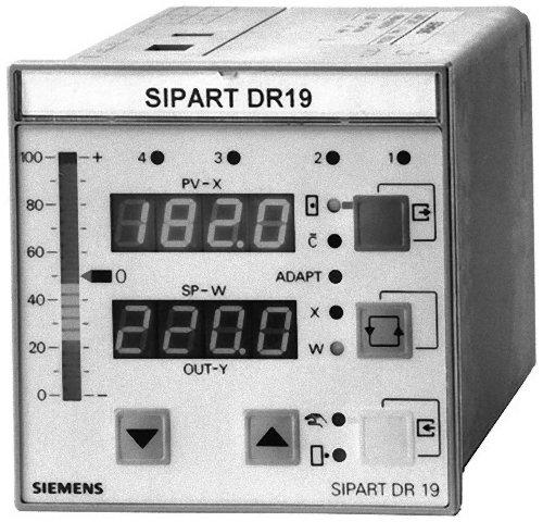 6DR1900-5-INDUSTRIEREGLER SIPART DR19 96MM*96MM GRUNDGERAET mit K-AUSGANG und S-