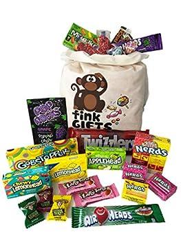 L'Américain USA | Sac cadeau américain Candy USA | Bonbons Bonbons Hamper & Bundle boîte de sélection de chocolat | fink gifts