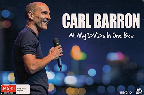 Preisvergleich Produktbild Carl Barron: All My DVDs In One Box (LIVE / WHATEVER COMES NEXT / WALKING DOWN THE STREET / WOMPOO ST / A ONE ENDED STICK)
