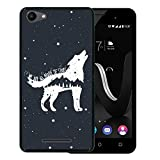 WoowCase Funda Wiko Jerry, [Wiko Jerry ] Funda Silicona Gel Flexible Lobo Frase...