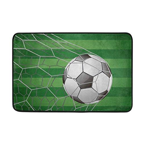 COOSUN Balón de Fútbol en Campo de Hierba Objetivo con Felpudo ...