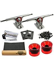 Paris 180 RAW Advanced Longboard Set