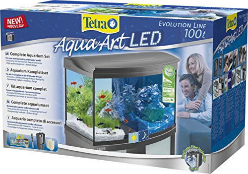 Tetra AquaArt Evolution Line LED Aquarium-Komplett-Set 100 Liter anthrazit - 3