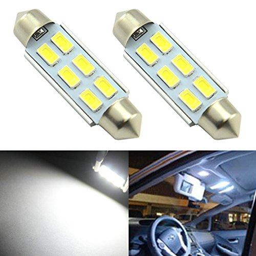 Preisvergleich Produktbild Taben Super Hell 5730 Chipsatz Canbus Fehlerfrei LED Sofitte 31 mm 3, 2 cm für Auto-Innenraum-Nummernschild Dome Trunk Lichter Soffitte DE3175 DE3021 DE3022 de3023 7065 6500 K Weiß (2 Stück)