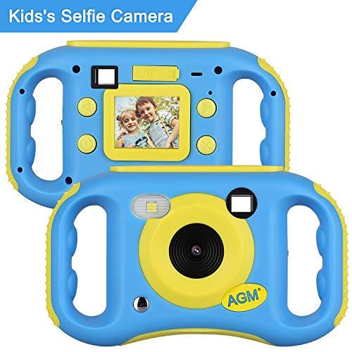 """AGM MP3 Kinderkamera ,Digitalkamera Videokamera Full HD 1080P mit 1.77"""" LCD Display Design,Eingebauter Speicher von 4GB, ,Geburtstag Festival Geschenk für Kinder Jungen Mädchen"""