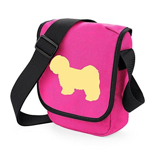 Bag Pixie - Borsa a tracolla unisex adulti Lhasa Cream on Pink
