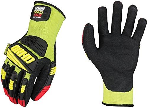Mechanix Wear ORHD CR3 KNIT Gloves YELLOW SMALL (8)