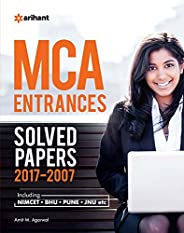 11 Years' Solved Papers 2017-2007 MCA Entra