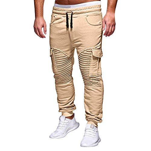 Manadlian Hosen Herren Chino Hose Stretch Jeans Straight H1245 Chino Cargo Hose Jayden - Lässiger Look mit Cargo-Hose - viele Funktionelle Taschen - klasse kombinierbar - Regular Fit (Herren Stretch-jeans Wrangler)