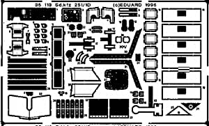 Eduard Photoetch 1:35 - Sd.Kfz.251/1 Ausf.D (Tamiya) - EDP35113
