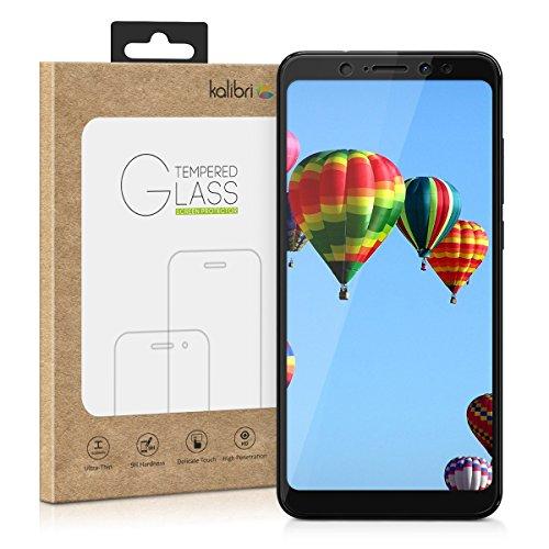 kalibri-Echtglas-Displayschutz-fr-Wiko-View-XL-3D-Schutzglas-Full-Cover-Screen-Protector-mit-Rahmen-Glas-Folie-auch-fr-gewlbtes-Display-in-Schwarz