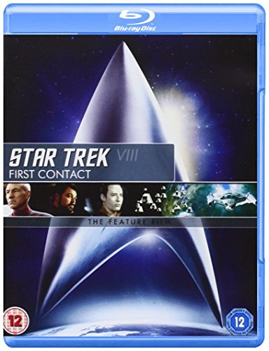 Star Trek 8: First Contact (Remastered) [Blu-ray] [UK Import]