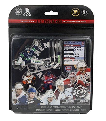 Premium Sports Artifacts NHL Figure Starter Pack Fantasy Team: Getzlaf, Subban, Miller Game, 2.5'' by Premium Sports Artifacts