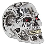 Nemesis Now T-Terminator Box, Kunstharz, 16,2 cm, silberfarben