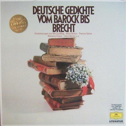 Deutsche Gedichte vom Barock bis Brecht [Vinyl Schallplatte] [3 LP Box-Set] - Heine Set
