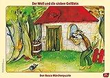 Der Wolf und die 7 Geißlein: Don Bosco Märchenpuzzle (Don Bosco Märchenpuzzle für Familie und Kindergarten)