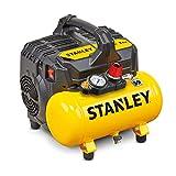 Stanley DST 100/8/6 Silent Compressor (59dB) los Giallo Stanley