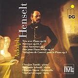 Henselt: Trio avec Piano Op. 24 / Berceuse Op. 13/1 / Deux Nocturnes Op. 6 / Duo pour Piano et Cor Op. 14 (2001-02-27)