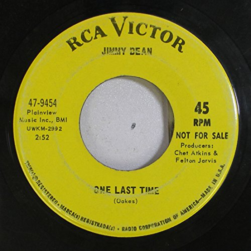 jimmy-dean-45-rpm-one-last-time-a-thing-called-love