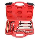 VINGO® 16-teilig Bremssattel Führungsbolzen Gewinde Reparatur Werkzeug M9 * 1,25 Bremse VW Golf Audi VAG OPEL FORD