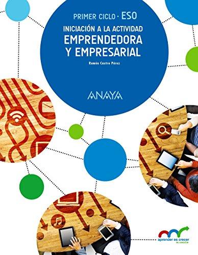 Iniciación a la Actividad Emprendedora y Empresarial. (Aprender es crecer en conexión) - 9788467852684 por Ramón Castro Pérez